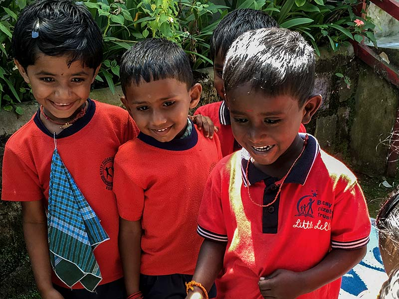 Help Kids India - sponsor a child