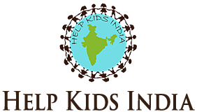 Help Kids India logo mobile